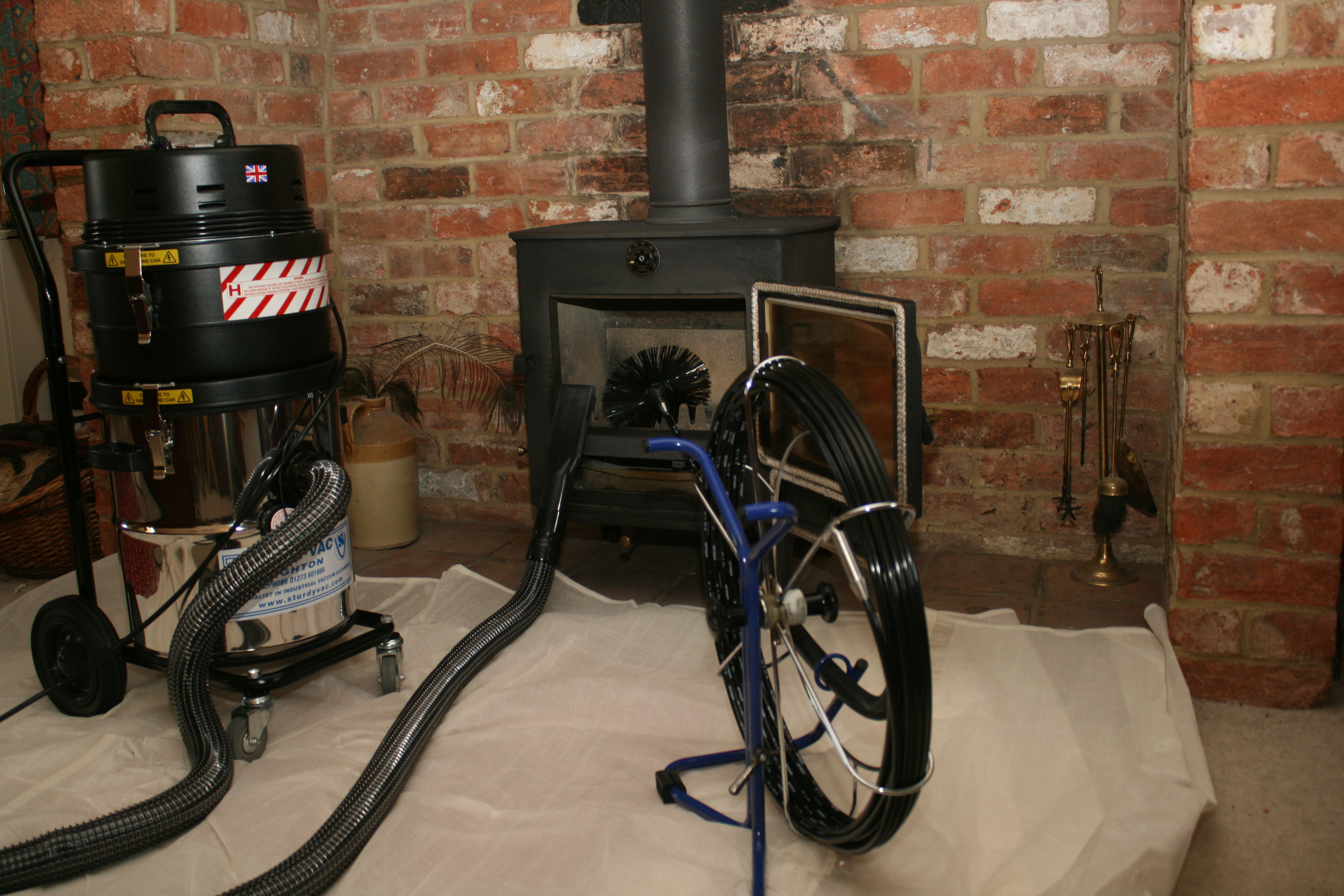 Services Offered By The Black Horse Chimney Sweep The